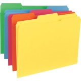 Top Tab Colored Folders